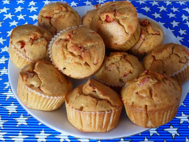 Muffiny a'la pizzeriny, muffiny wytrawne, muffinki pizzowe