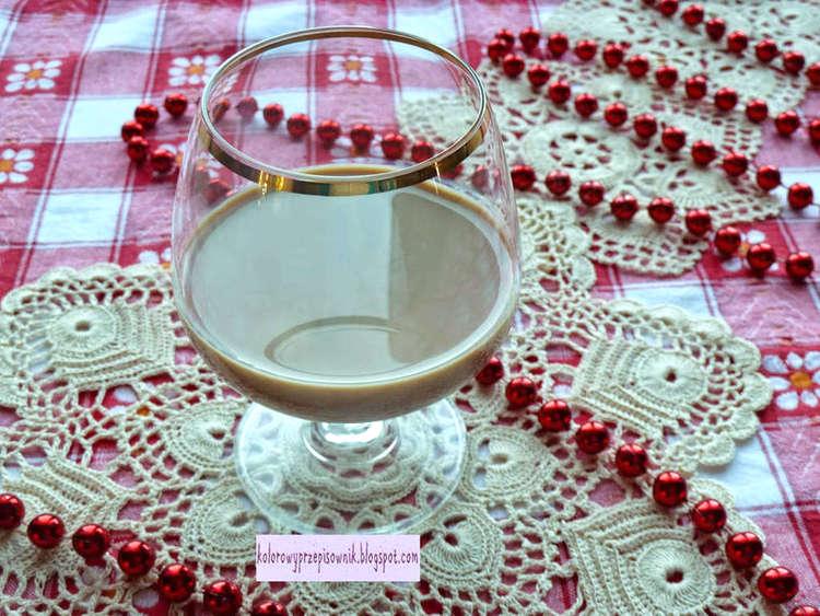 Likier kawowy, domowy likier kawowy, domowy alkohol, nalewka - Kolorowy Przepisownik
