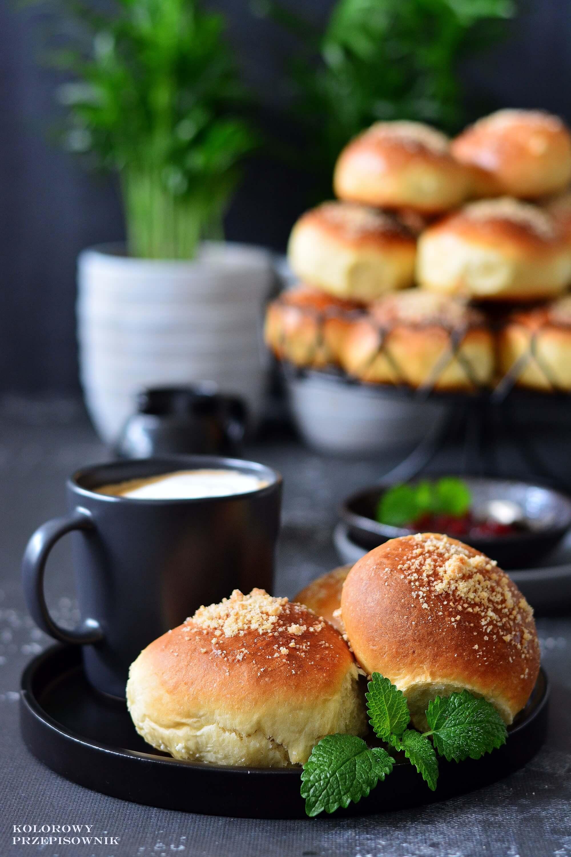Buleczki drozdzowe zdzemem ikruszonka, drozdzowki, najlepsze drozdzowki, buleczki drozdzowe, uniwersalne ciasto drozdzowe, przepis nabuleczki - Kolorowy Przepisownik, sprawdzone przepisy