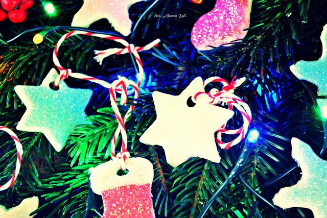 Ozdoby z suchej porcelany, diy, Boże Narodzenie