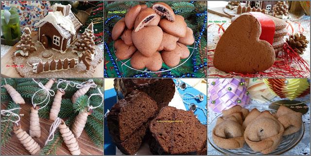 Piernikowe love, dekoracje z piernika, Boże Narodzenie