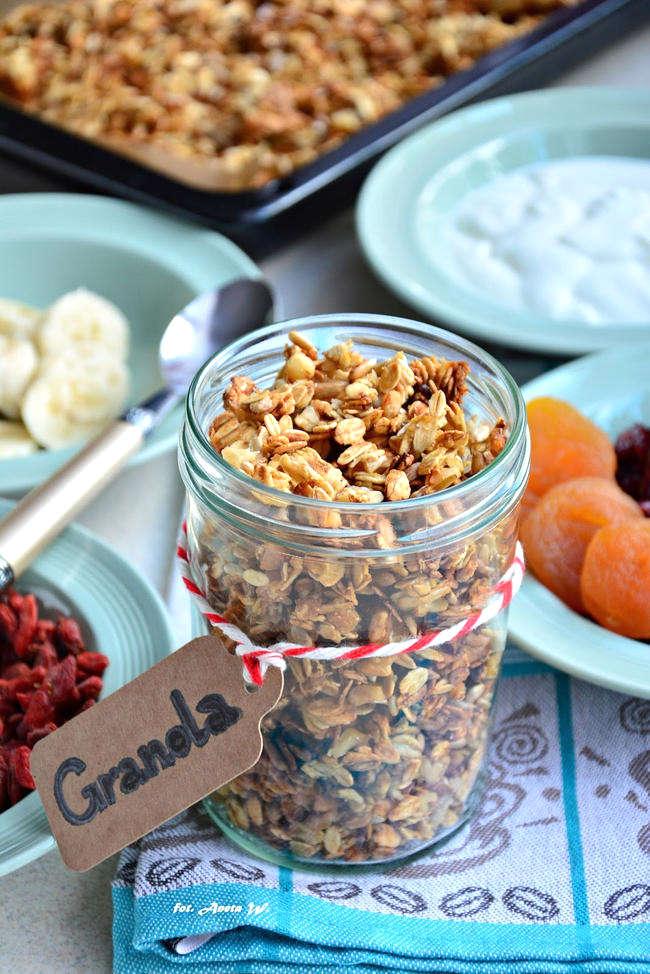 Granola, szybkie śniadanie