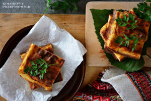 Placek ziemniaczano-serowy, babka ziemniaczana