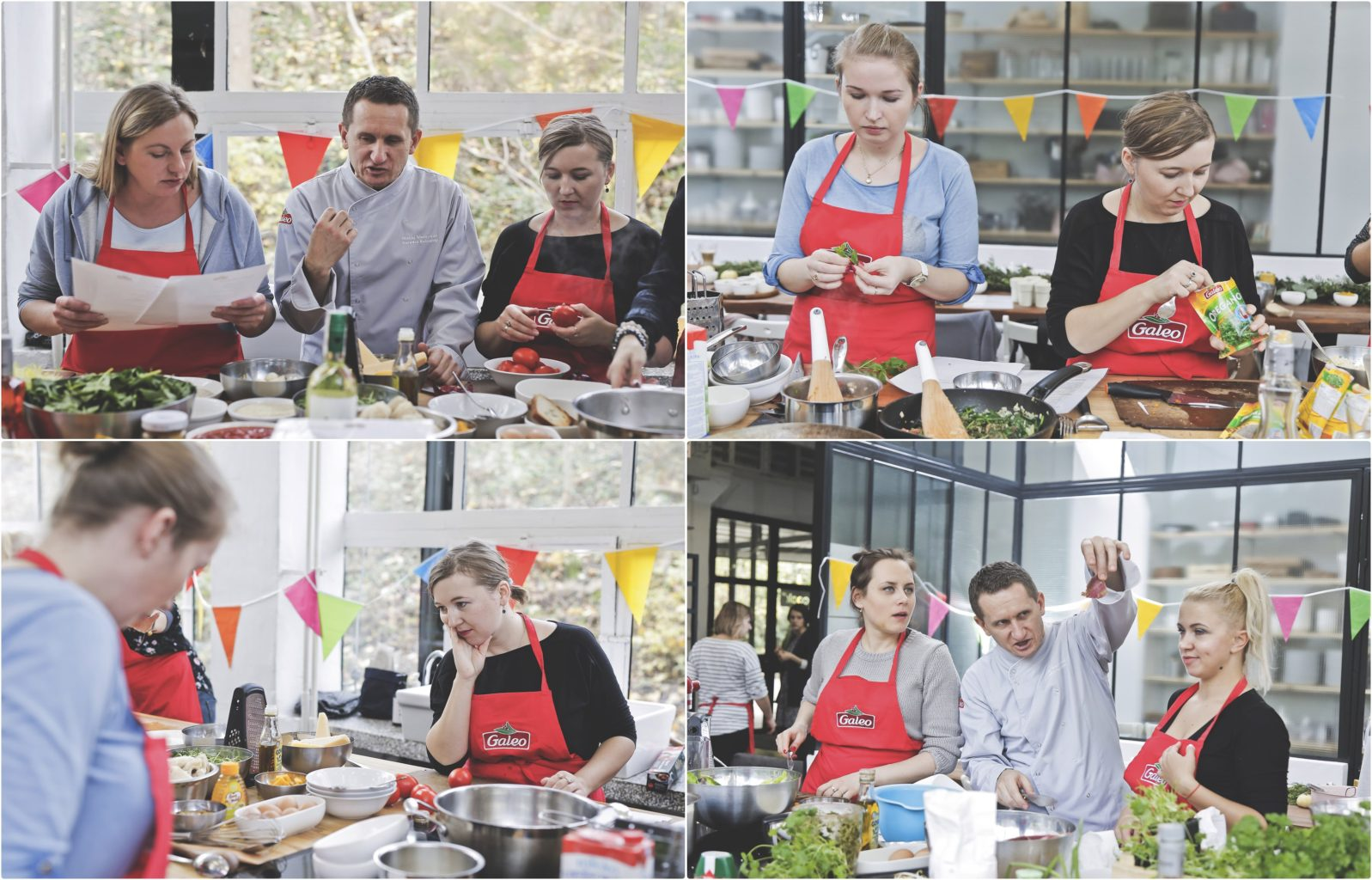 warsztaty kulinarne, street food, Galeo, Cook Up, Warszawa