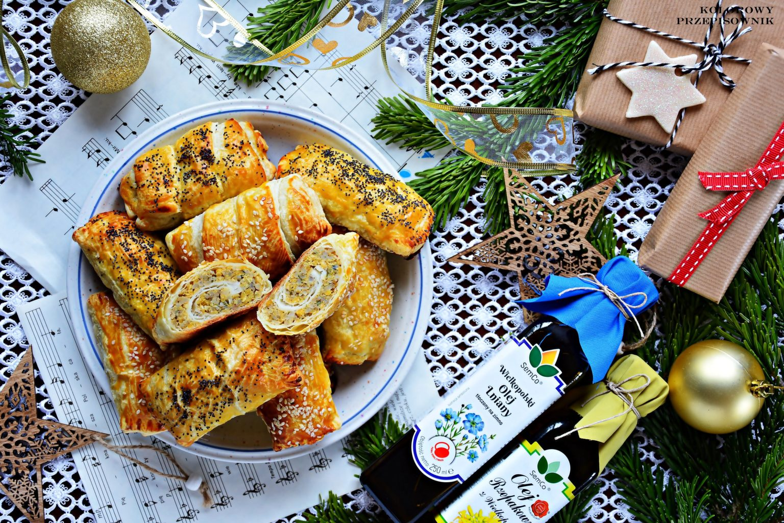 Krokieciki francuskie zsoczewicą ikaszą jęczmienną, wigilijna potrawa dla dzieci, wigilia, Boże Narodzenie, krokiety