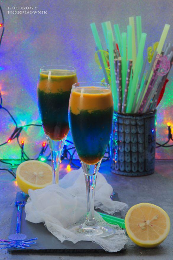 Drink Advocaat twist, drinki, alkohole, sylwester