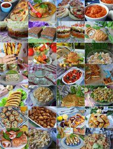 Najlepsze przepisy naSylwestra/imprezę, przekąski, sałatki, dania, śledzie,