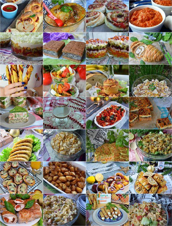 Najlepsze przepisy na Sylwestra/imprezę, przekąski, sałatki, dania, śledzie,