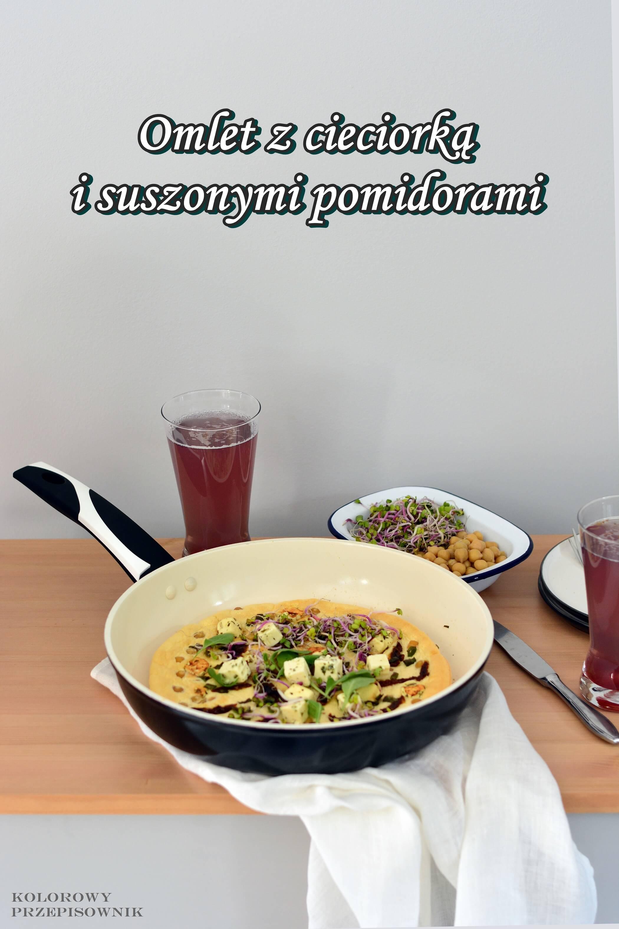 Sniadanie zjajkiem na4 sposoby, omlet zcieciorka isuszonymi pomidorami