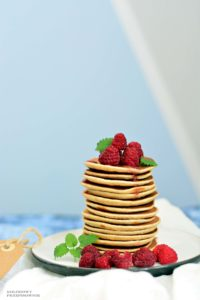 Placuszki sniadaniowe, placuszki bananowe, placuszki bezcukru, placuszki dla dzieci, sniadanie dla dzieci - Kolorowy Przepisownik, sprawdzone przepisy