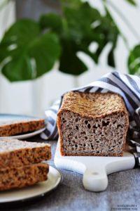 Chleb zkaszy gryczanej niepalonej, chleb bezglutenowy, chleb gryczany, domowy chleb, domowe pieczywo - Kolorowy Przepisownik, sprawdzone przepisy