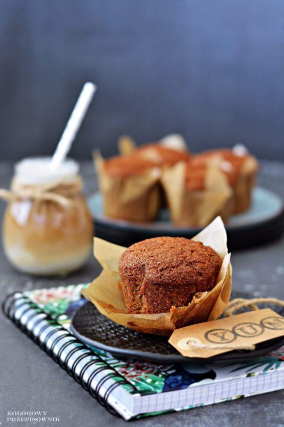 Muffinki bananowe, najlepszy przepis na muffinki, najlepsze muffinki bananowe, muffinki z bananami - Kolorowy Przepisownik, sprawdzone przepisy