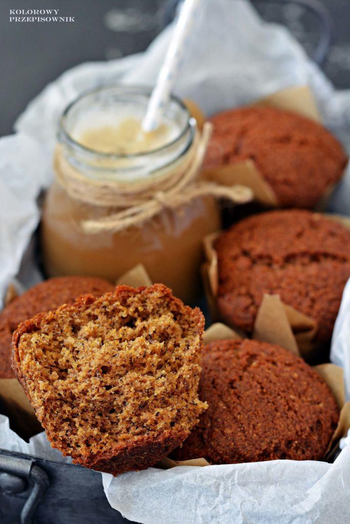 Muffinki bananowe, najlepszy przepis namuffinki, najlepsze muffinki bananowe, muffinki zbananami - Kolorowy Przepisownik, sprawdzone przepisy