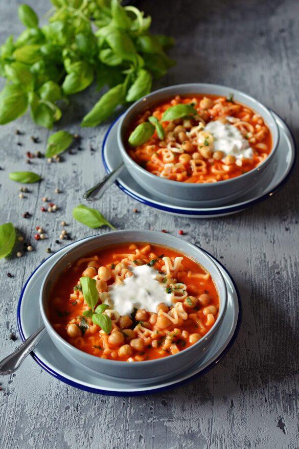 Zupa krem ze smazonych pomidorow, zupa pomidorowa, krem z pomidorow, pomidorowka - Kolorowy Przepisownik, sprawdzone przepisy